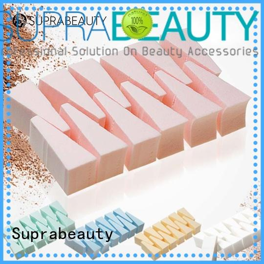 sp face makeup sponge with customized color for mineral dried powder Suprabeauty