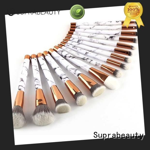Suprabeauty pcs makeup brush kit with curved synthetic hair for artists