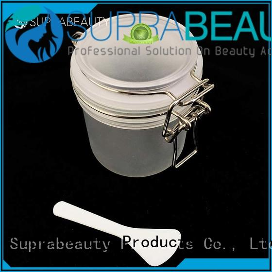 Suprabeauty mask Kilner Jar with logo printing for mud mask
