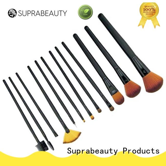 pcs unique makeup brush sets with brush belt for eyeshadow Suprabeauty