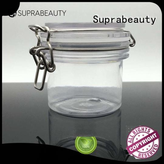 xlj plastic jars with lids with stainless steel for petroleum jelly Suprabeauty