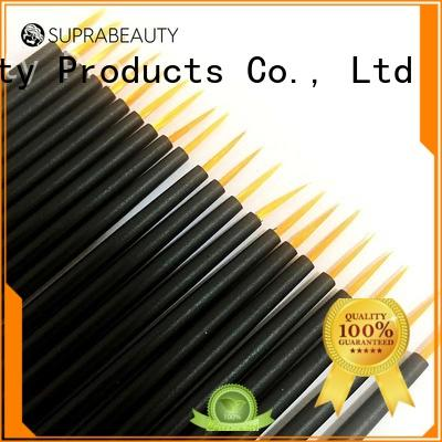 Suprabeauty curved disposable brow brush large tapper head