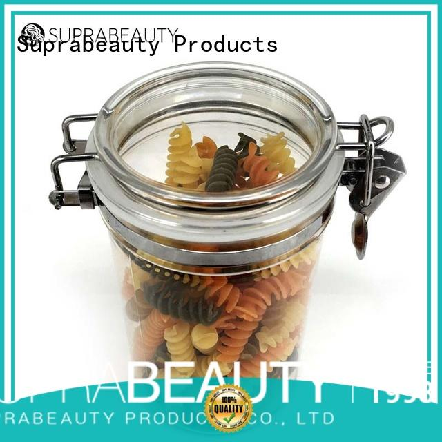 Suprabeauty small cosmetic jars with lids best manufacturer for package