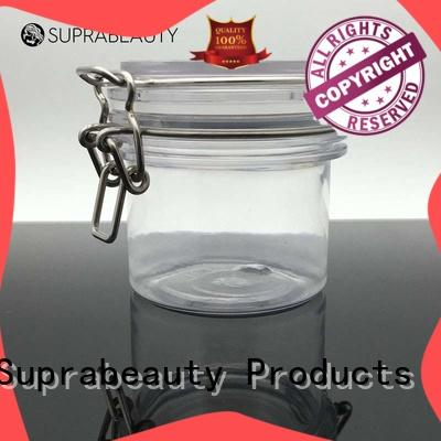 Suprabeauty antioxidative cosmetic PET jar with silicone ring for mud mask