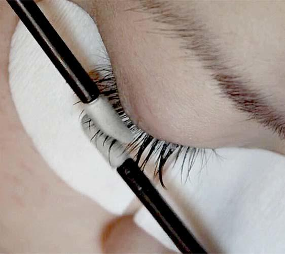 pu form disposable eyeliner applicators with bamboo handle for mascara tube Suprabeauty