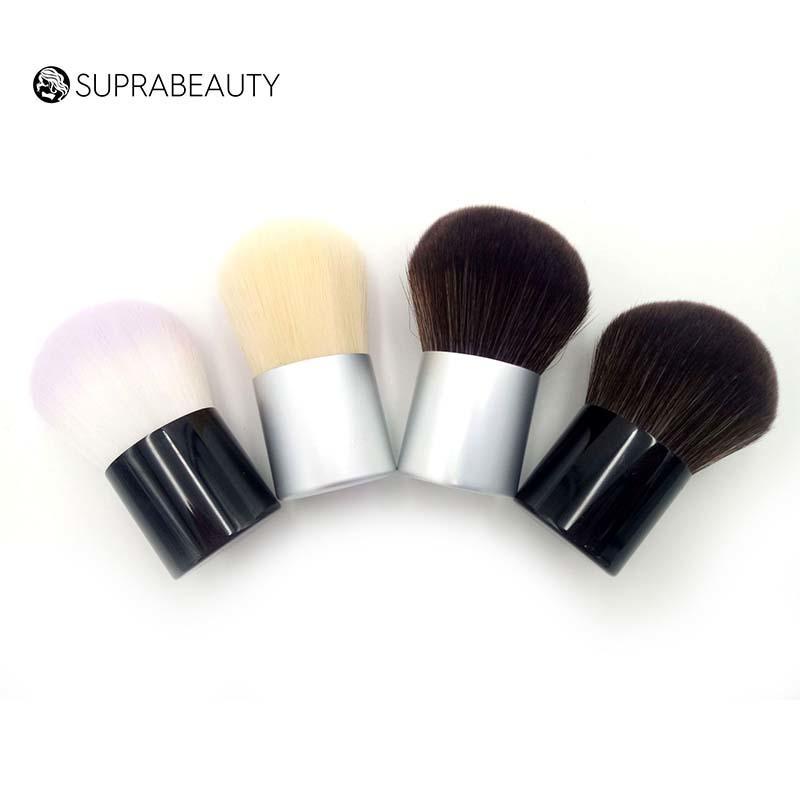 Goat hair mineral powder makeup kabuki brush