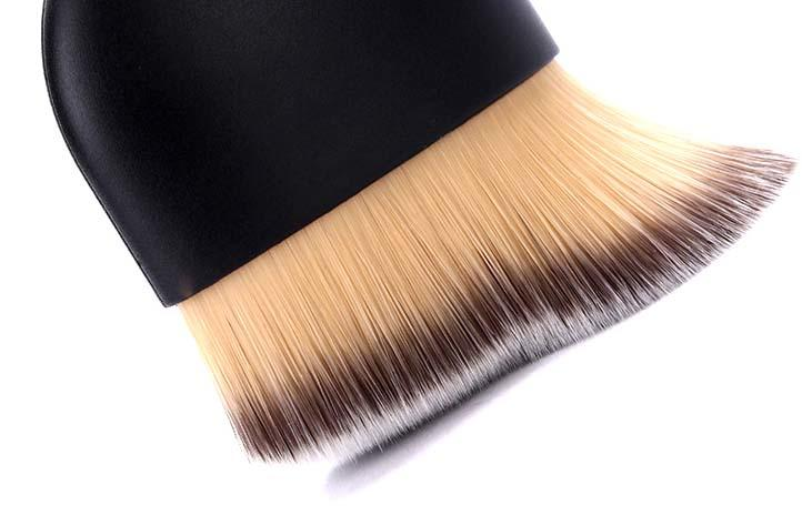 oval angle synthetic beauty brush Suprabeauty Brand