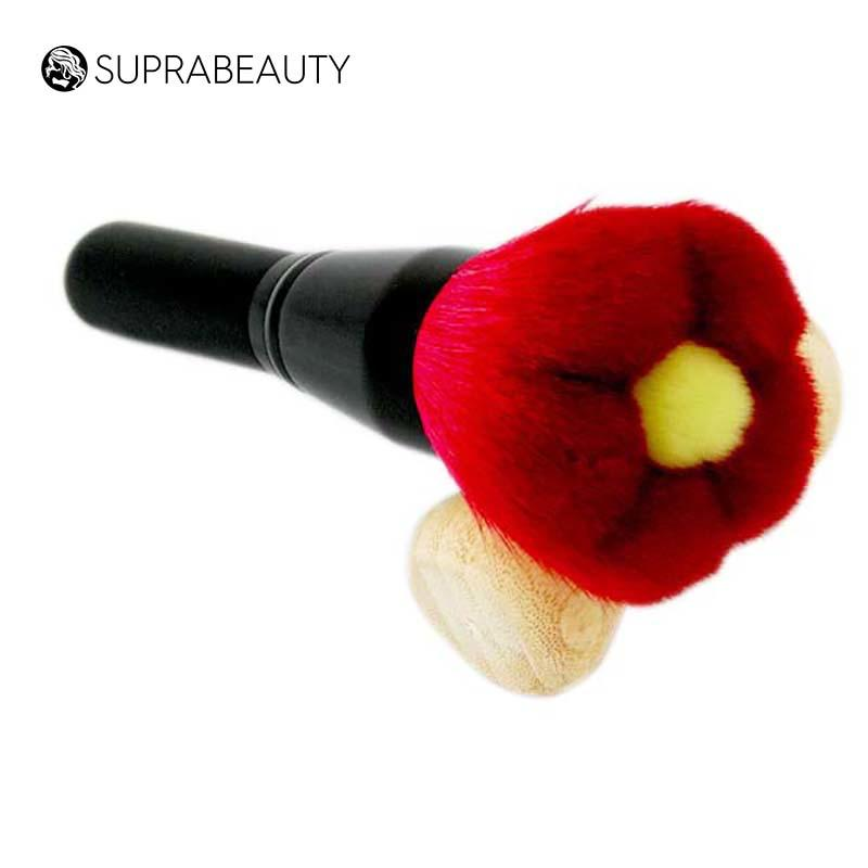 Unique design synthetic hair flower makeup powder brush