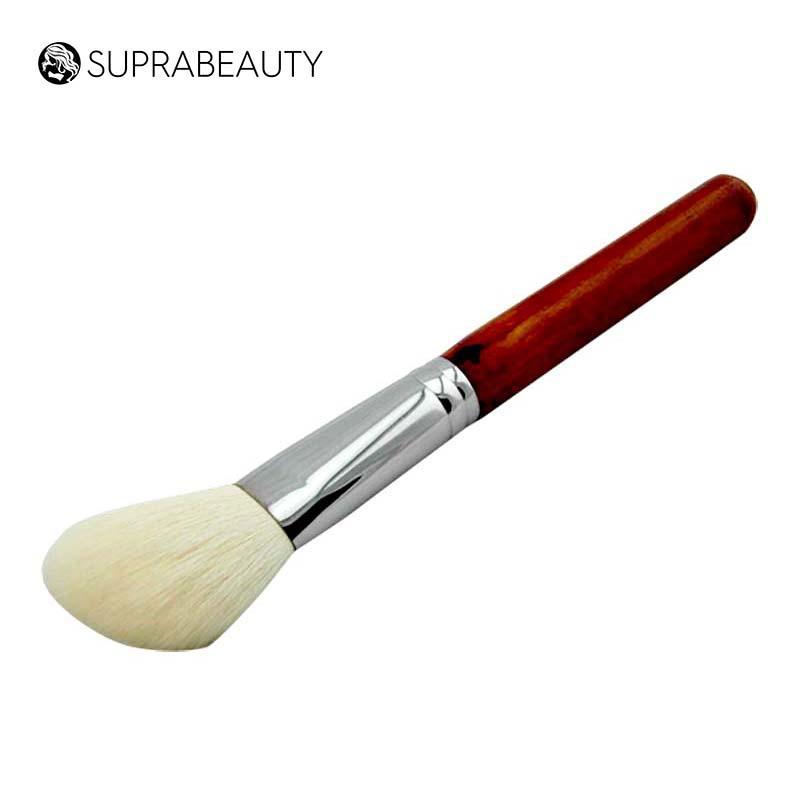 Goat hair angle makeup blusher brush