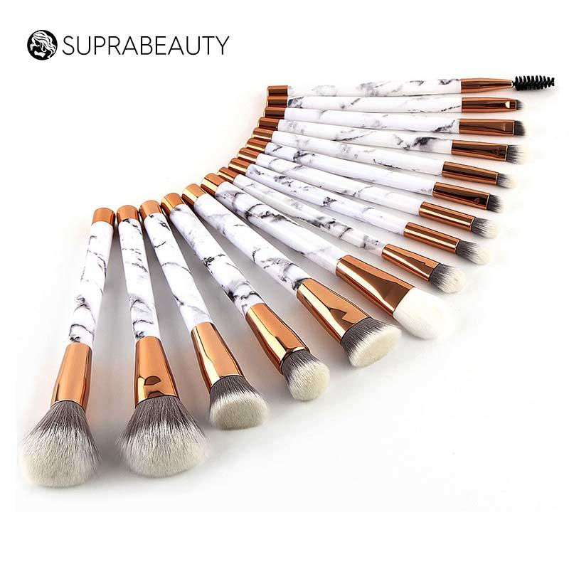 marble makeup brush kit 15pcs