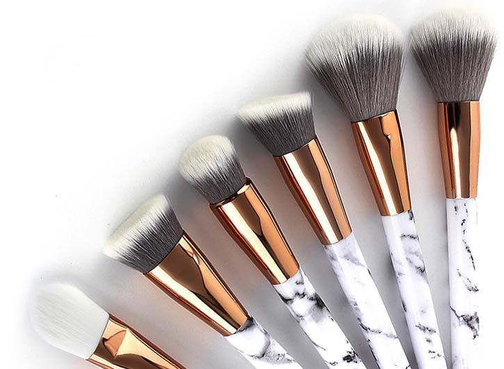 professional makeup brush set cheap wholesale for packaging