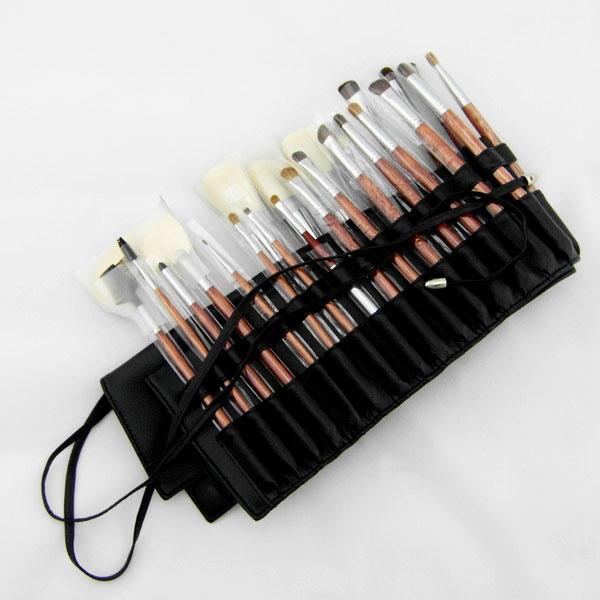 Professional makeup brush set for artist