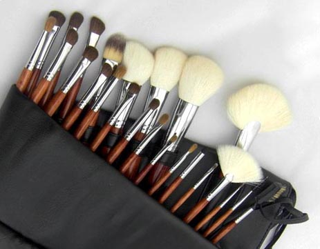 best rated makeup brush sets with brush belt for artists Suprabeauty-2