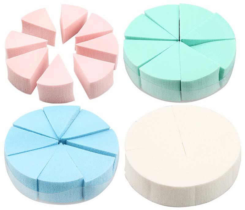 Suprabeauty disposable good makeup sponges with customized color for cream foundation