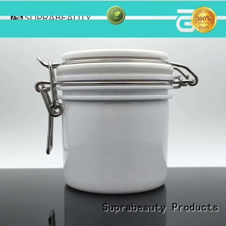 Suprabeauty white bulk cosmetic jars xlj for cosmetic cream