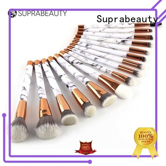 Suprabeauty goat best makeup brush set with curved synthetic hair for artists