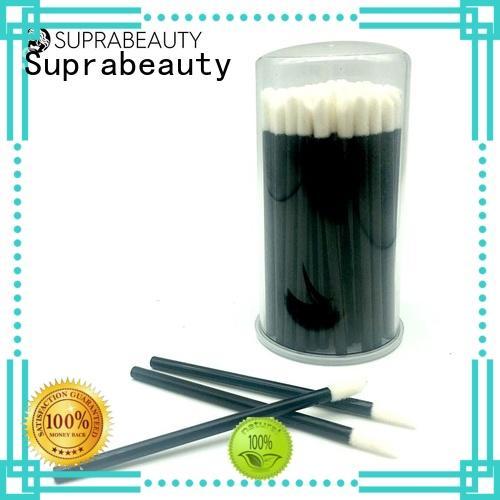 lipstick brush with bamboo handle for eyeshadow powder Suprabeauty