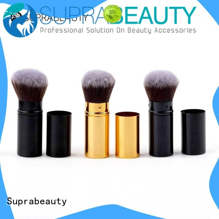 kabuki day makeup brushes with super fine tips for eyeshadow Suprabeauty