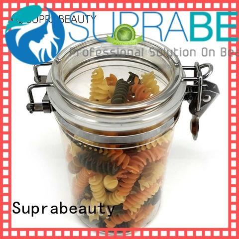 Suprabeauty round plastic airtight jars xlj for petroleum jelly
