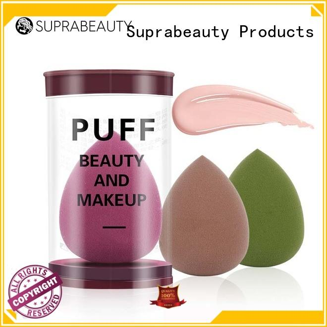 facial cleansing face makeup sponge supplier for mineral powder