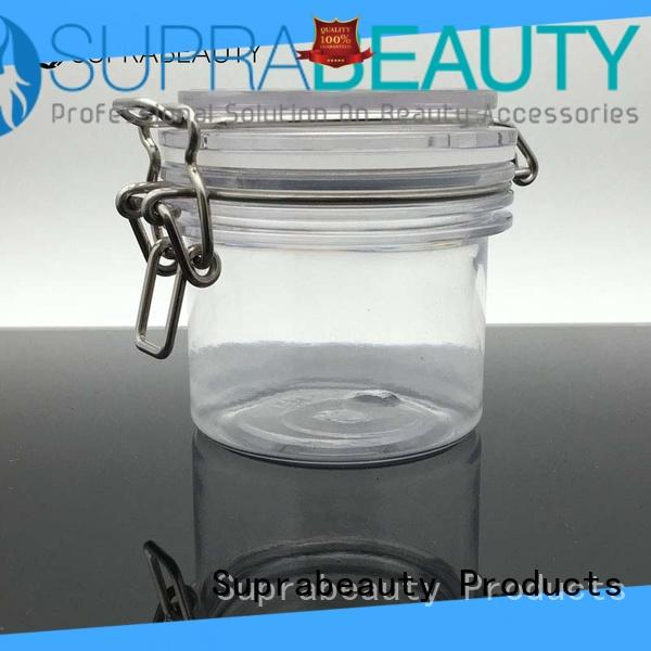Suprabeauty xlj body cream jar with logo printing for cosmetic cream