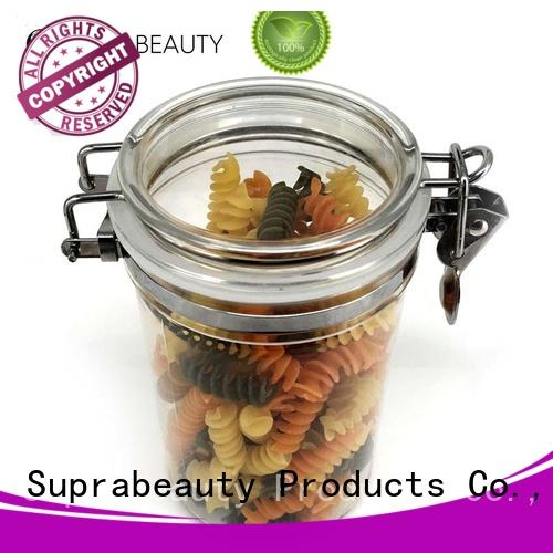 Suprabeauty xlj clear cosmetic jars with logo printing for petroleum jelly