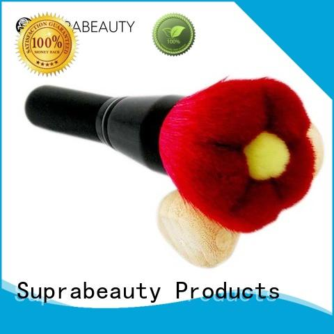 taklon beauty cosmetics brushes with super fine tips for loose powder Suprabeauty