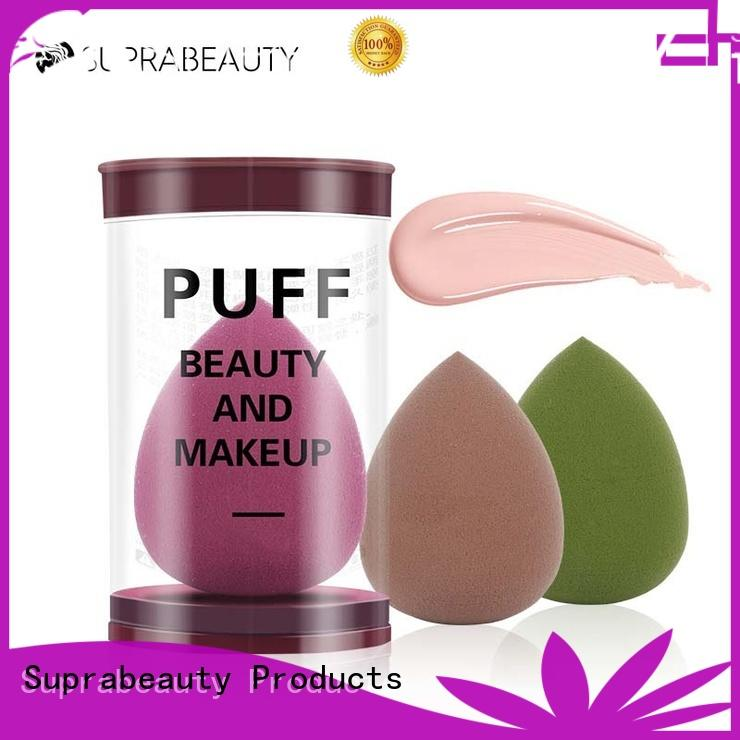 Suprabeauty professional makeup sponge wedges with good price for packaging
