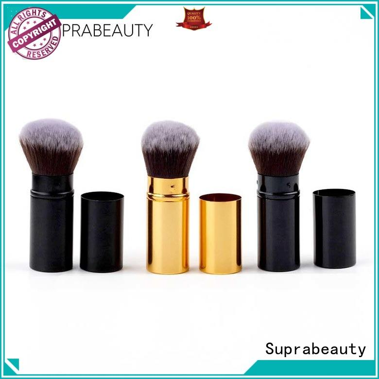 Suprabeauty handle beauty cosmetics brushes with eco friendly painting for eyeshadow