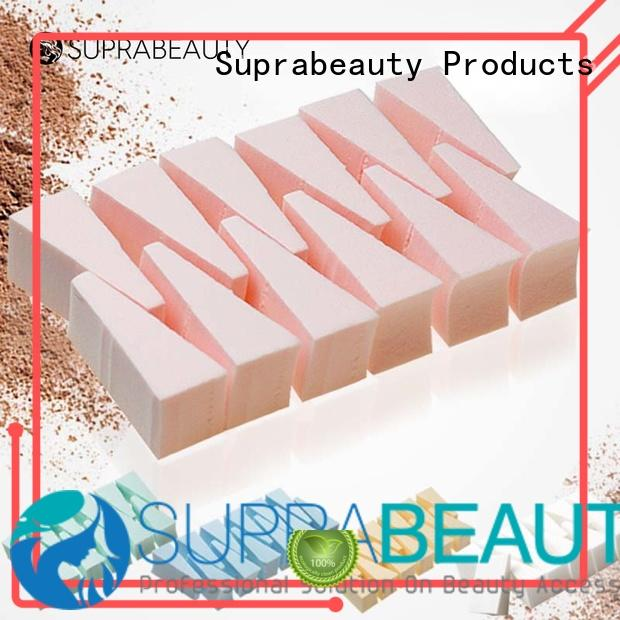 Disposable Pre-cut Wedge Shape Latex Free Makeup Sponge