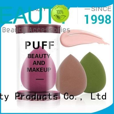 Suprabeauty flower shape foundation egg sponge sps for mineral powder
