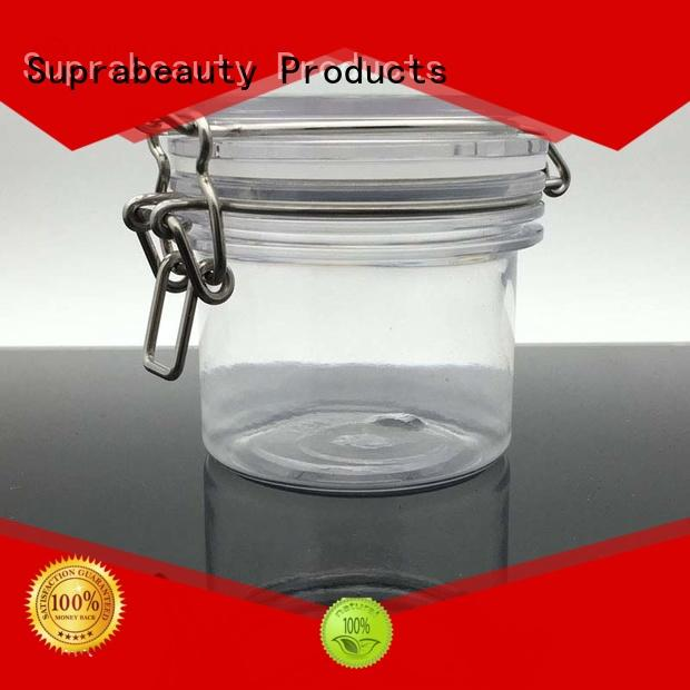 Suprabeauty antioxidative plastic cosmetic containers with silicone ring for petroleum jelly