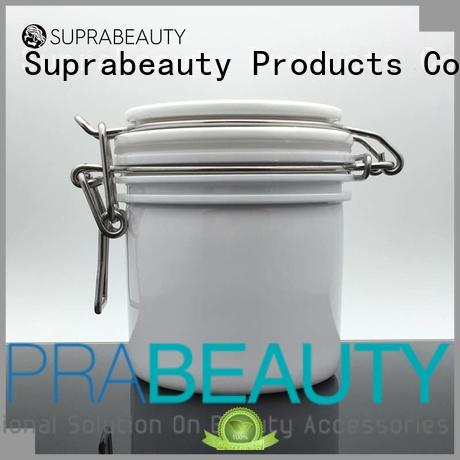 Suprabeauty mask plastic cosmetic containers with stainless steel for petroleum jelly