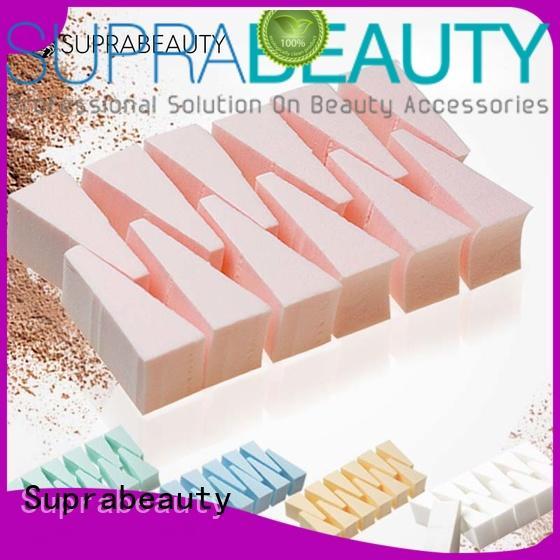 sps foundation sponge manufacturer for mineral dried powder Suprabeauty