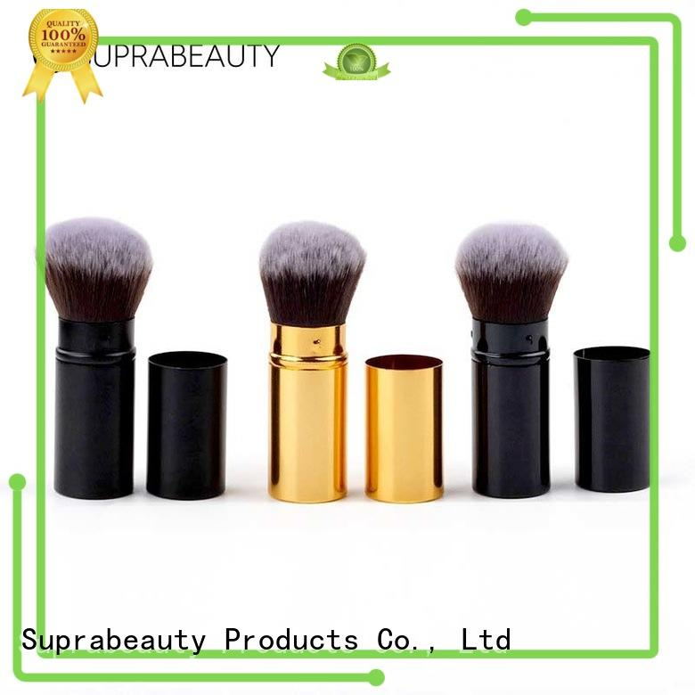 customized retractable cosmetic brush manufacturer bulk production