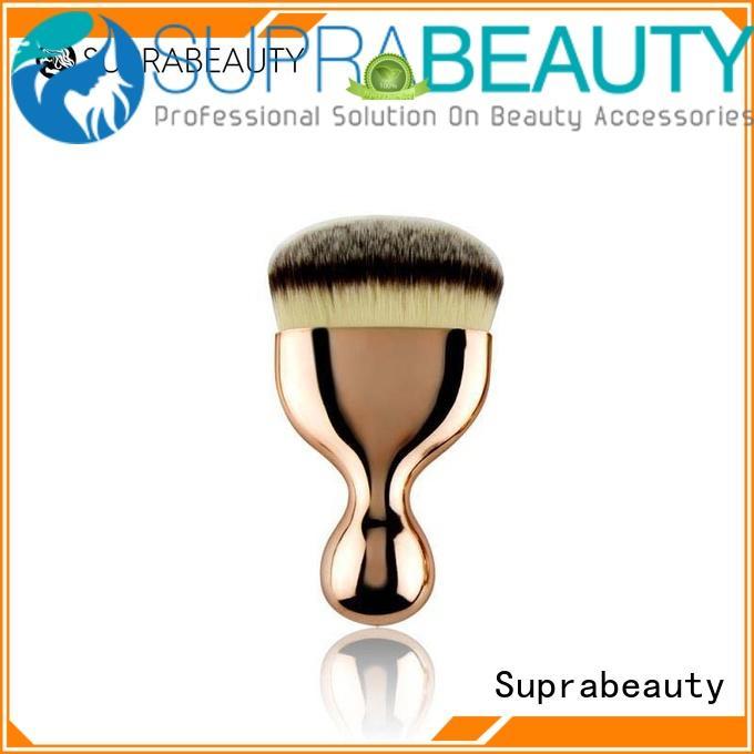 oval angle synthetic beauty brush Suprabeauty Brand