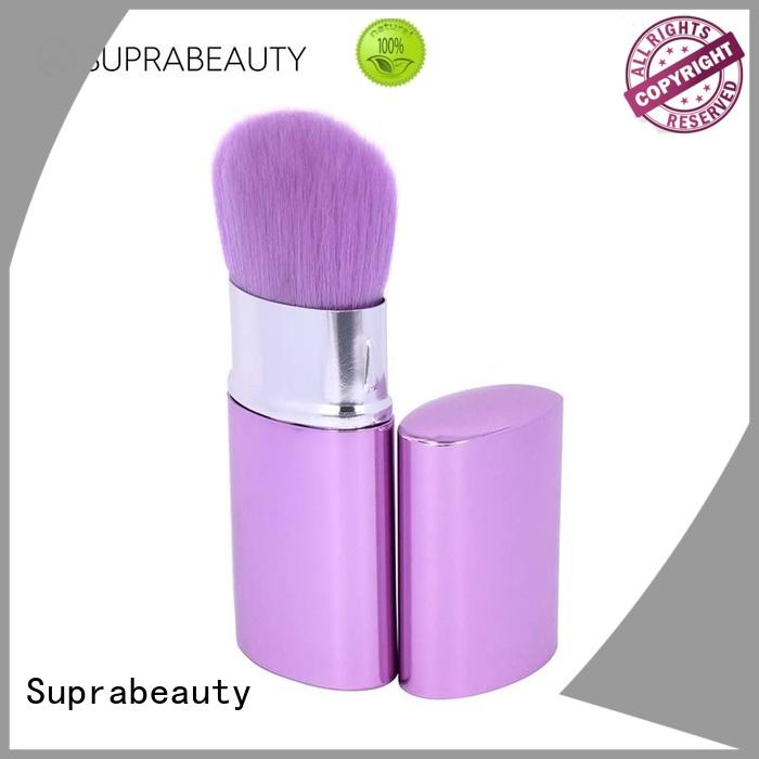 retractable beauty cosmetics brushes with super fine tips for eyeshadow
