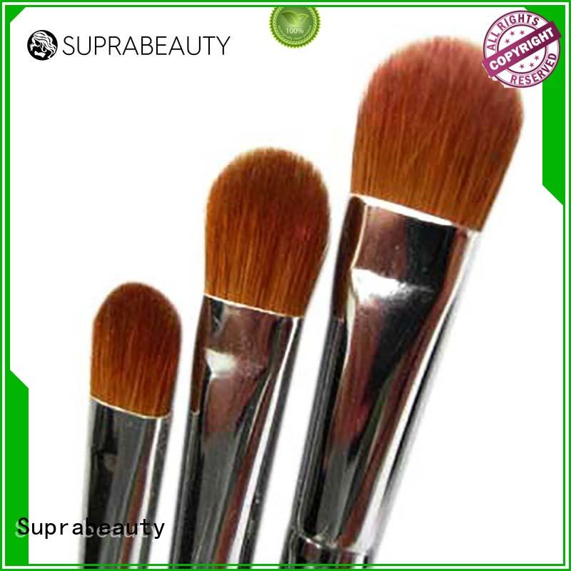 Suprabeauty syntehtic better makeup brushes with super fine tips