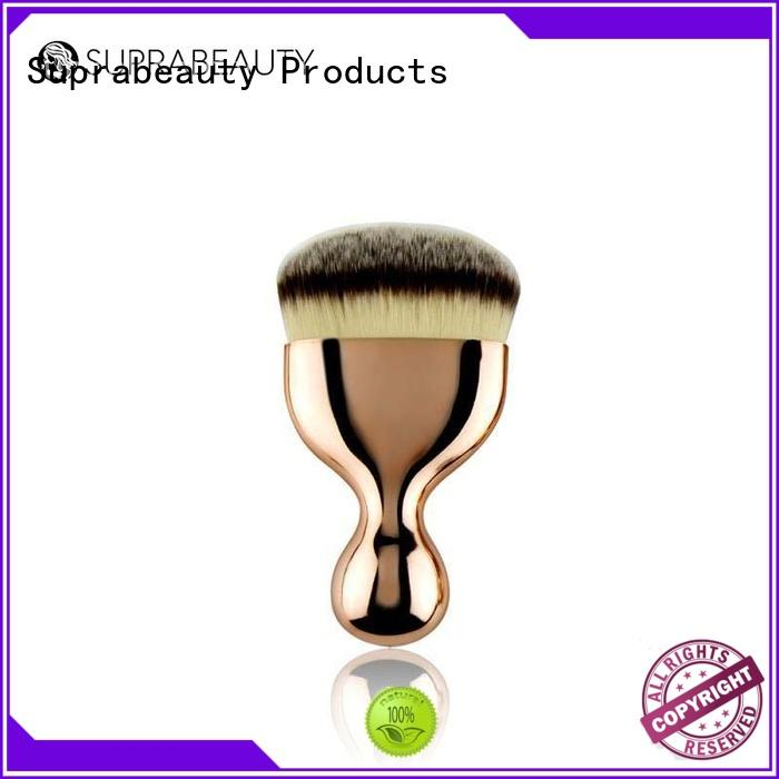 flower face base makeup brushes with super fine tips for liquid foundation