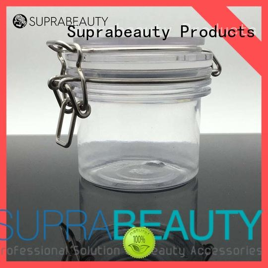 Suprabeauty xlj bulk cosmetic jars with logo printing for petroleum jelly