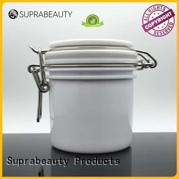 Suprabeauty xlj Kilner Jar with stainless steel for mud mask