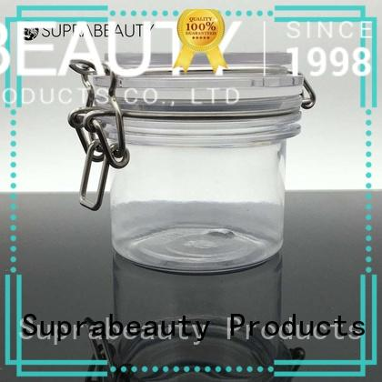 practical clear cosmetic jars supplier bulk production