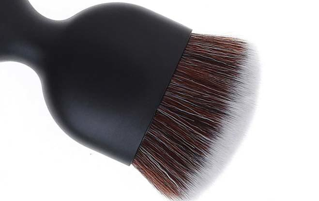 Syntehtic hair portabale makeup foundation brush-3