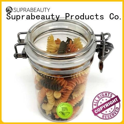 xlj clear cosmetic jars xlj for bath salt Suprabeauty