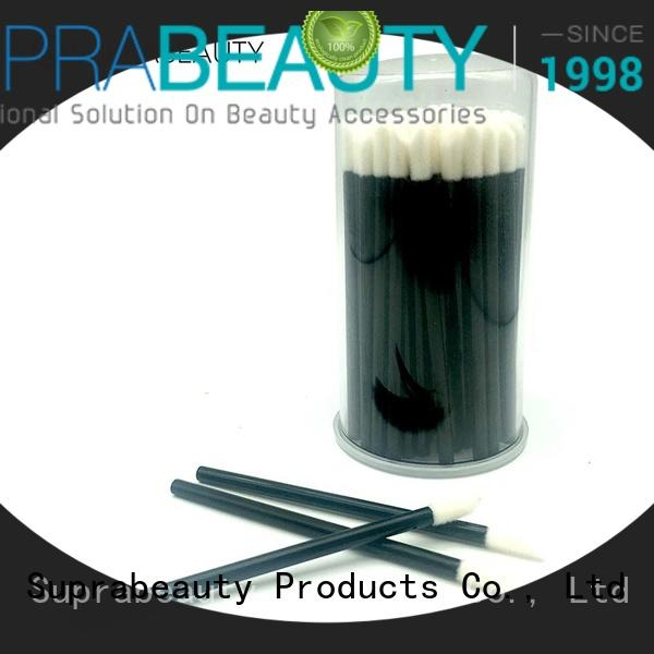 Suprabeauty fiber disposable eyeliner applicators large tapper head