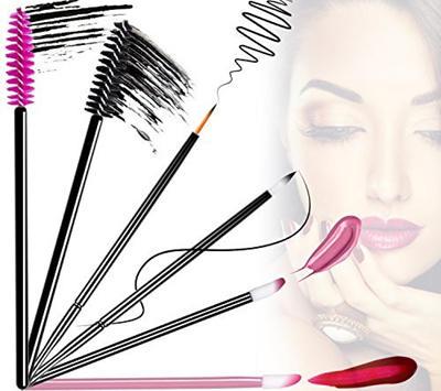 disposable eyelash brush, disposable eyeliner brushes, disposable mascara applicators