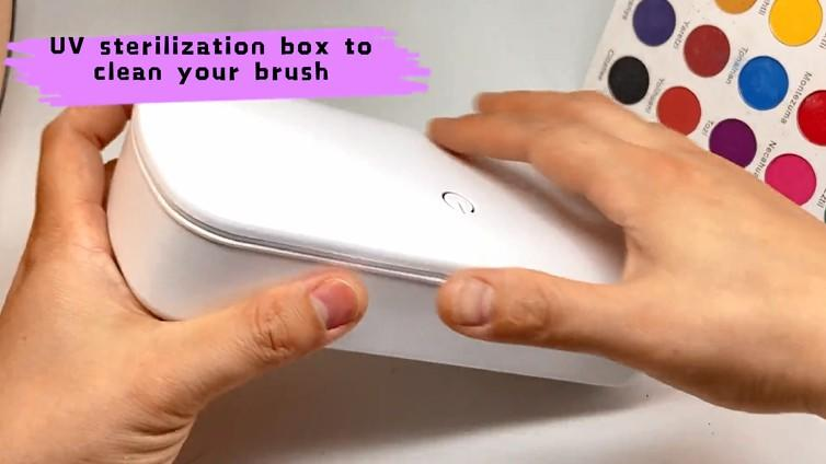 Suprabeauty new make up brush set -new concept on brush packaging
