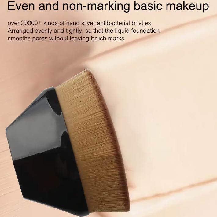Petal Shape Face Affordable Foundation Makeup Brushes