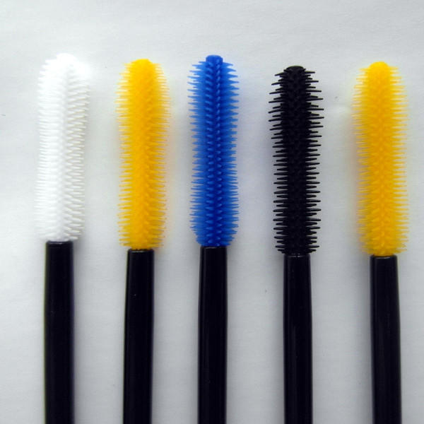 Silicone mascara brush curved mascara head Suprabeauty SPD6003-2