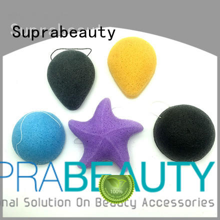 precut face makeup sponge manufacturer for cream foundation Suprabeauty